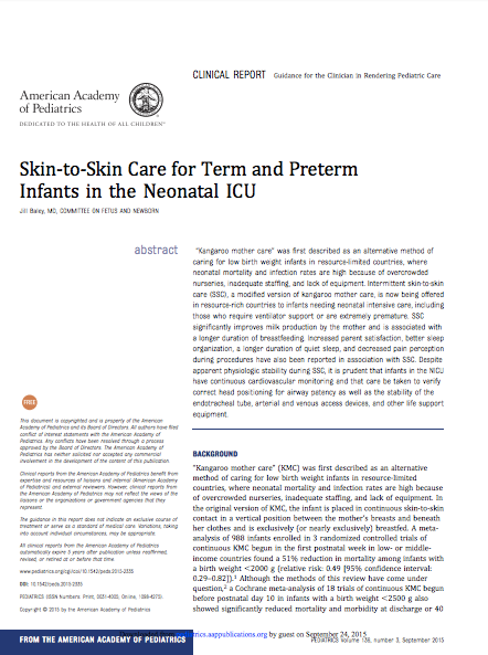 Skin-to-skin-care-infants